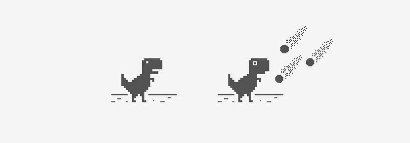 ฉลอง 4 ขวบ กูเกิลเผยที่มาของเกมไดโนเสาร์บน Chrome เจ๋งกันสุดๆ